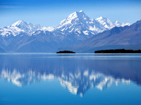 Reflection of Mt.Cook